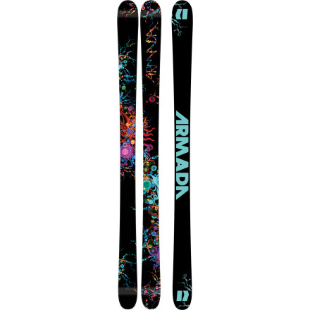 Ski Armada decided long ago that women should decide the direction of the women's line of skis. As such, the ARW ski was tested, critiqued, and tweaked by Aramda's female athletes. After intense scrutiny, it was decided that this all-mountain dominator should have a wide, stable platform, traditional camber, and burly, full sidewall construction. It's a classic design with tweaks that account for differences in stance and weight between a woman and a man. - $399.96