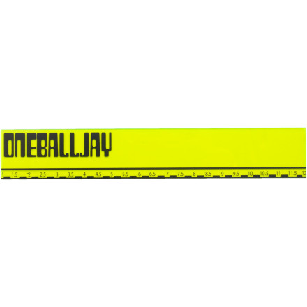 Ski When you need to roll out quick, enlist the power of the 'foot' by scraping the excess wax from your board's base with the OneBallJay 12-inch Plastic Scraper. - $6.38