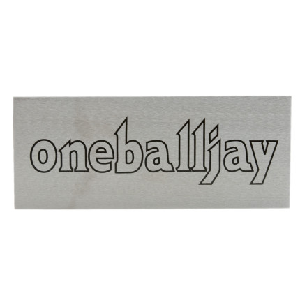 Ski Use the OneBallJay Super Steel Scraper to remove excess P-tex left behind during base repairs. Thanks to super-sharp edges and corrosion-resistant stainless steel construction, this will be a valuable part of your home tuning kit for years to come. - $6.71