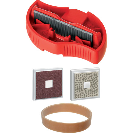 Ski Sharpen, polish, and fix up your edges all shiny with the 6-Way Tuner Kit, which includes an 80-millimeter file, diamond stone, abrasive stone, and an ergonomic file holder for a fatigue- and pain-free grind. Stay sharp out there. - $54.95