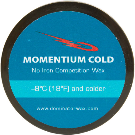 Ski Rub on Dominator Momentium Cold Wax when you need race-winning performance, the snow temperature is below 18 degrees fahrenheit, and you're fresh out of irons. - $10.78
