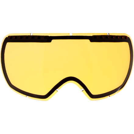 Ski The Anon Comrade Goggle Replacement Lens sure comes in handy when you accidentally leave the Comrade goggles on the roof of your vehicle and watch them fly off and get bounced around in traffic. Fortunately, you reacted quickly and were able to recover the goggles, but the lens is a whole other story. - $29.97