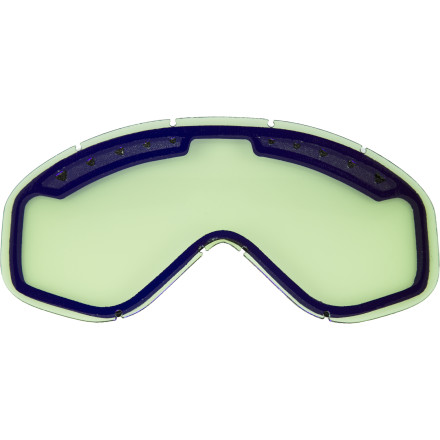 Ski Broaden your goggle lens quiver with the Anon Majestic Replacement Goggle Lens. Anon's anti-fog treatment eliminates any worries of not being able to see when the going gets steamy, while its unique lens curvature gives you panoramic views. - $17.97