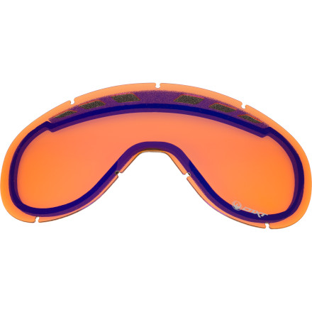 Ski Get the Dragon D1XT Goggle Replacement Lens when you want to see the halfpipe under the lights of the night competition. This lens fits into your D1XT Goggle and provides fog-free visual clarity for riding through the trees during the heaviest snow of the season or lapping the park and pipe at night. - $11.97