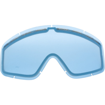 Ski It's a bummer that your Electric EGB2 Goggles fell off the roof of your car while you were doing donuts in the Brighton resort parking lot. Lucky for you, Electric sells EGB2 Replacement Lens so you can replace the ones that have tire tracks on them. - $11.97