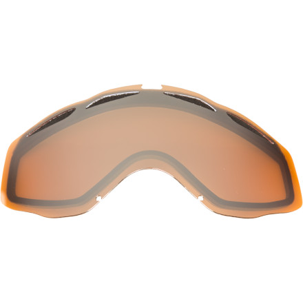 Ski Pick up some Oakley Twisted Replacement Goggle Lenses to adapt to changing light conditions, or just replace those scratched-to-hell lenses you've thrown into the back of your car one (or 50) too many times. - $12.50