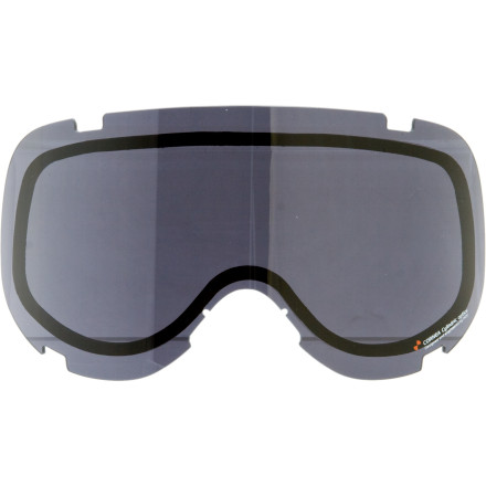 Ski If your Cornea goggle isnt as versatile as youd like in the changing light, maybe you should try the POC Cornea Goggle Replacement Lens to match your mountains weather. The double polycarbonate lens cuts out 99.9% of UV radiation and features scratch- and fog-resistant coatings to keep your peepers peeled for mountain shredding. - $39.98