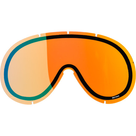 Ski Freshen up the view from your POC Retina Goggles with the POC Retinal Goggle Replacement Lens. Its double-lens construction is designed to enhance ventilation and deliver a wide angle of view. An anti-fog and anti-scratch treatment add an additional layer of performance and safety. - $13.97