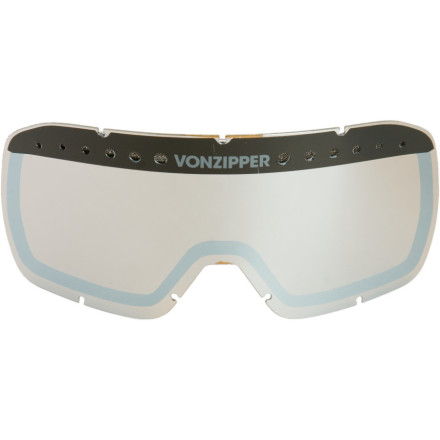 Ski So you face-planted like a jerk while trying impress your friends at the terrain park, and now your Von Zipper Fubar lens is, well, fubar. Get the Fubar Goggle Replacement Lens and prepare to saddle up once again. - $11.96