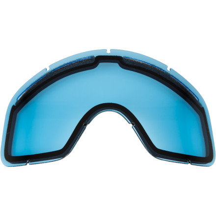 Ski Maybe junior managed to jack his lens up trying to make homemade napalm, or maybe he just needs to upgrade his arsenal of tints to be ready for the season. Either way, the Von Zipper Trike Cylindrical Goggle Replacement Lens will have him ready for the season. - $14.95