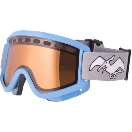 Ski Goggle designs seem to be getting out of handwhen did everyone suddenly become so dissatisfied with their old goggles that they're willing to get new ones that make them look like fighter pilots on the mountain' Airblaster took a different approach with the Terry Goggle. The frame is wide and sits close to your face for unrestricted peripheral vision and a comfortable fit so you can see everything there is to see without all the unnecessary tech. - $53.97