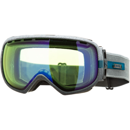 Ski Storm the mountain a little more stormily with the aid of the clarity and wide-range of vision of the Anon Insurgent Goggle. Offering full-perimeter channel venting to match the wider lens, the Insurgent will remain fog-free as you pillage pillow lines and raid the park, no matter the weather. - $89.97