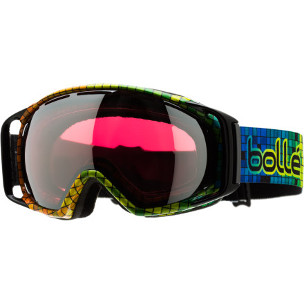 Ski Bolle's Gravity Goggles deliver a comfy fit, crystal-clear optics, and tons of venting for fog-free vision. - $69.97