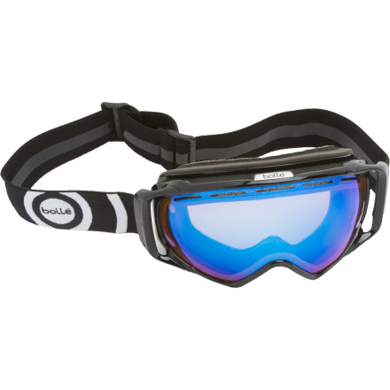 Ski The Bolle Gravity Polarized Goggle provides all the same great features as the regular version, with a glare-blocking polarized lens perfect for bright, sunny days. - $129.95