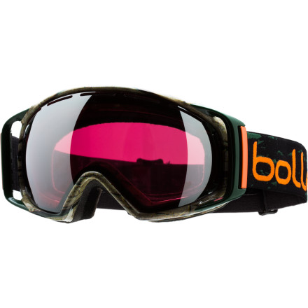 Ski Snowboard Cross gold medalist Seth Wescott worked with Boll designers to incorporate the style of a Northeast Maine treeline into his signature Gravity Goggle. Besides the treeline graphics, the Gravity features a spherical lens for the maximum peripheral vision required by gold medalists like Seth. Flow Tech Venting ensures that fog won't cloud your vision on the way to the finish line and multi-density face foam and micro-fleece provide a snug and comfortable fit. - $65.97