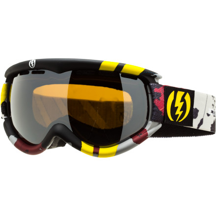 Ski For those with small faces and huge amounts of passion for style and functionality in a goggle, the Electric EG1s is for you. Don't let the smaller frame fool you, the EG1s packs a punch of peripheral vision and fog-free fun. - $65.97