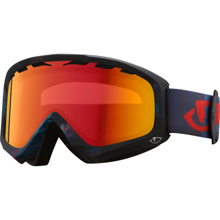 Ski Put on the wide-view Giro Station Goggle and see more of the mountain without the fog or scratches of your old, narrow-view goggle. The large Super Fit frame fits over your wider face and provides a better range of view with its injection molded cylindrical lens so you can keep an eye on your peripherals in the event that an out-of-control tourist threatens your perimeter. Choose a lens type to match your mountains usual conditions. - $50.97