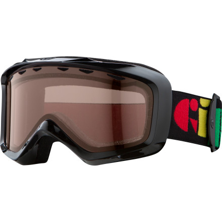 Ski Giro Grade goggles give you the features and protection that you need for a full season of skiing and leave you enough money that you can still afford to go. - $24.47