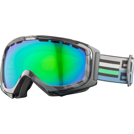 Ski Put on the Giro Manifest Goggle, and a white, blurry maelstrom is displaced by the glorious world of clarity. Do an instant lens change with the PopTop system, and a blinding fireball is subdued by dark shades; flat, abyssal space gains depth; and the night sky brightens. Like magic. - $199.95