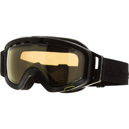 Ski Big-mountain riders are exposed to extreme light conditions: everything from soot-black clouds to abrasive high-altitude sun. Be prepared for all of it with the Julbo Orbiter Goggle fitted with the Camel Polarized Photochromic lens. The spherical lens adapts to changing light conditions and eliminates glare in aggressive alpine light. - $167.96
