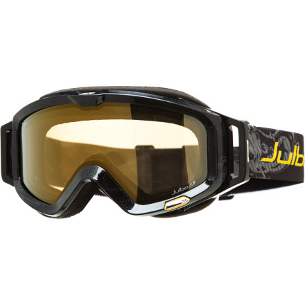 Ski The folks at Julbo have been making high-tech mountaineering eyewear for years. They've extended their designs to include ski goggles to bring their amazing technology to the slope. The Meteor Goggle brings Julbo's professional mountaineering-quality optics to the chairlift and incorporates a lens that handles both sunny and cloudy weather. - $135.96
