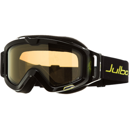 Ski Julbo crammed high-tech trickery into every crevice of the Meteor Goggle with the Camel Polarized, Photochromic Lens to make one of the most optically perfect ski goggles known to man. Gone are the days of whining about flat light or glare. You just ran out of excuses. - $159.96