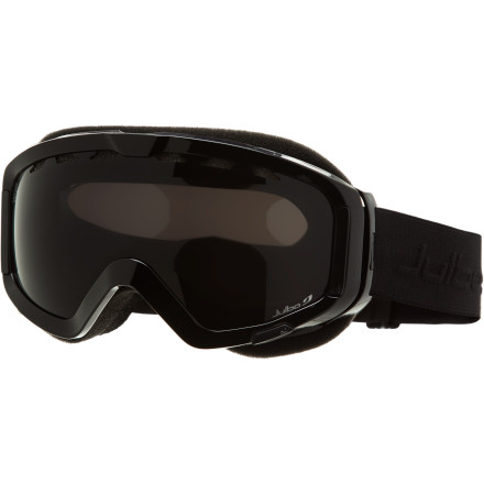 Ski Julbo brings some of its best mountaineering technologies to folks who want to see the top of the world from the inside of a goggle. Julbo calls it 'the big screen.' This goggle allows you to better determine variations in terrain and snow conditions and filters harmful light with its reflective flash technology. - $103.96