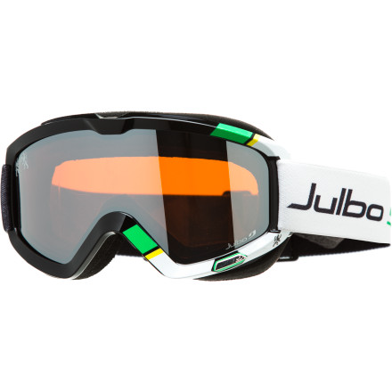Ski The Julbo Bang Goggle is ready to to go off in any weather. Three included lenses (dark, high-contrast, and clear) mean the Bang can handle everything from bright, sunny days to night skiing. - $109.62