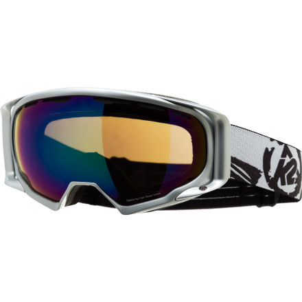 Ski Riding on fifty years of renowned skiing heritage, the K2 Photophase Goggle is built to not just to meet, but exceed your expectations. The Ocular based frame design reduces the appearance of the frame in the wide-view spherical lens, allowing you to almost forget you're wearing them. A Ri-Pel lens coating reduces scratches, smudges, and fingerprints while the silicone lining on the straps gives you a non-slip grip on your helmet. - $70.00