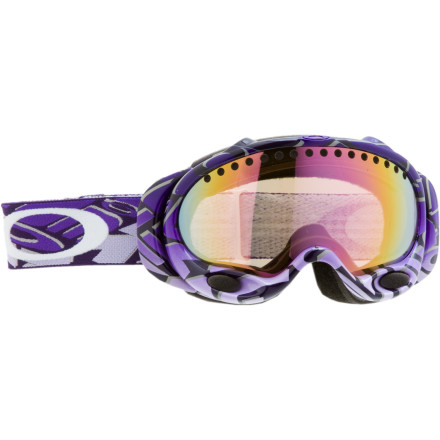Ski Don the Oakley A Frame Goggles and try farting in them to fog them up. It may sound gross, but it's probably an effective method for testing Oakley's integrated dual-lens and surge-vent technology. Or hit the mountain and leave the beans at home. Oakley sealed a layer of air between two fog-treated lenses to reduce the chance of fog accumulating. Vented air circulates through the bottom of the A Frame and back out the top so air doesn't have a chance to get trapped in your goggle and fog your lens. Impact resistant frames, triple-layer foam with wicking fleece, and total UV protection make the A Frame the workhorse of Oakley's lineup. - $55.00