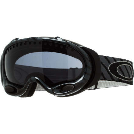 Ski The Shaun White Signature A-Frame Goggle fuses proven Oakley technology with the creativity of the X-Games and Olympic gold medal winner himself. If you think the A Frame is dated at this point, having been around since the Y2K scare, think about it this way: when Red Bull builds you your own private halfpipe, complete with the first documented on-snow foam pit, on the back of Silverton for your training sessions, you can pretty much have any goggle you want. Shaun chooses the A-Frame. - $66.00