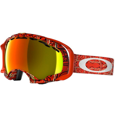 Ski Quarterpipe-air record holder and pipe wizard Simon Dumont puts his signature style on the next evolution in goggle technology from Oakley: the Splice. Re-engineered frame contact points increase downward visibility and decrease nose pressure for easier breathing. After all, when you're 35 feet up off the deck, the air gets thin. - $71.50