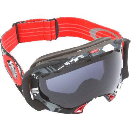 Ski Feeling pressured' Could be your goggles. The Oakley Splice combines patented, distortion-free XYZ Optics with a pressure-eliminating frame design to help you breathe, see, and perform better than ever. Until now, most goggles have relied on the classic 'raccoon-eyes' frame shape that accommodates a range of face and nose shapes, but that can create unwanted pressure on the nose bridge, restricting breathing and causing discomfort. To eliminate this, Oakley's team of learning computers designed a frame that arches completely over the nose, using your cheekbones for support and filling the gap with super-soft triple-density face foam. The result, in short, is a super-comfortable goggle that maintains all the amazing range of vision and clarity you expect from Oakley. But don't believe the hype; try them and find out for yourself. - $72.00