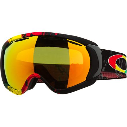 Ski The Oakley Tanner Hall Signature Canopy Goggle takes Tanner's style to an all new level for 2012-13 and slaps it on the largest lens Oakley has produced yet. Along with a look designed by the man himself, you get more vision in every direction to help you stomp landings and dodge gapers all over the mountain. Its patented O-Flow Arch, flexible frame, and fleece lining ensure a comfortable fit while the proven Oakley optics help you to see it all in the park or in the backcountry. - $102.00