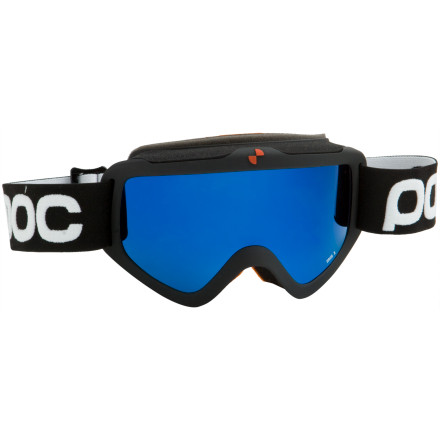 Ski POC's treated double lens and excellent frame venting prevent the Iris X Goggles from fogging, so you never have to ride in your own personal whiteout. A cellulose propionate inner lens adds fog-fighting performance and proves once again that POC goes above and beyond the norm. The Iris X Goggles come in two sizes to better fit your face, and the wrap-around design increases peripheral vision. - $119.95
