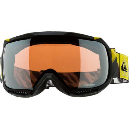 Ski If you would guess that Travis Rice wouldn't put his name on the Quiksilver Hubble Goggle without it being supremely badass, then you'd be right. The Hubble features a super low-profile frame with a 160 degree spherical lens so that you don't miss a single detail when dropping into your line, which, if you're like Travis, you know can be absolutely necessary. - $135.96