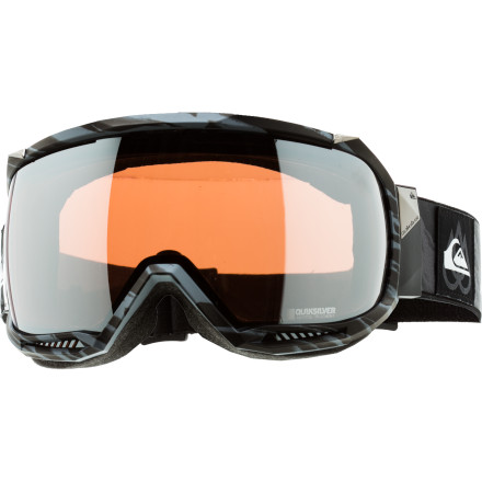 Ski The Quiksilver Hubble Goggle will give you a new perspective on things A literally. With a 160-degree spherical lens and a low-profile frame, you'll be able to see things you never would have known were there if you'd been wearing other goggleswhether it's a hidden cliff or that cute ski bunny coming up on your left. - $95.97