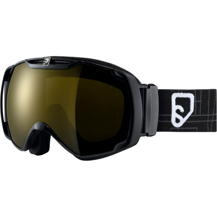 Ski The first thing you'll notice when you put on the Salomon Xtend Xplore8 Goggle is the custom feel provided by the layer of super-soft material between the frame and face foam. Jump on the lift, and you'll notice the increased field of vision provided by reduced thickness in the frames. After a few runs, you'll be impressed by the fog-free performance, and by this point, you'll have noticed that these are the by far the best goggles you've ever worn. - $124.95