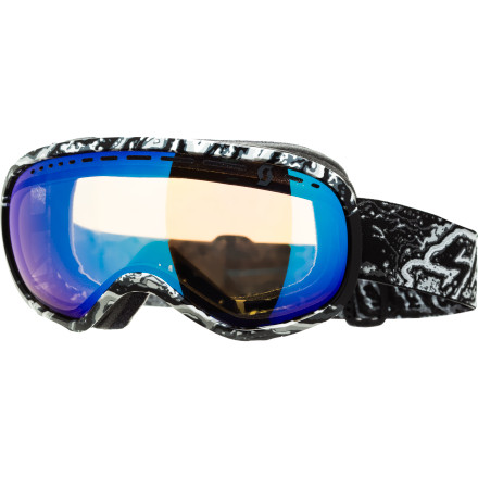 Ski Fresh off the presses, Scott delivers you the Off-Grid Plus Goggle to soothe your vision needs while you slash pow turns or rock out in the half pipe. Designed with an increased lens and frame size, this goggle delivers a maximum field of vision so you don't miss a thing on the mountain. - $77.97