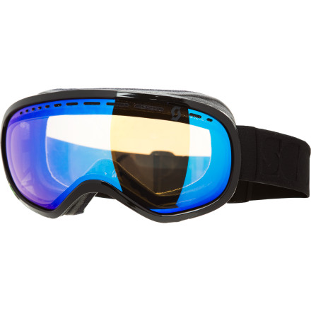 Ski Designed to optimize fit, comfort, and distortion-free field of vision, the Scott Off-Grid Goggle is much more than just a pretty face. The increased lens size and reduced frame thickness look as good from the outside as they do from within, and the combination of multiple anti-fog systems, 4-position customizable fit, and 3-layer hypoallergenic face foam will have you thinking of when you can wear the Off-Grid off the mountain. - $65.97