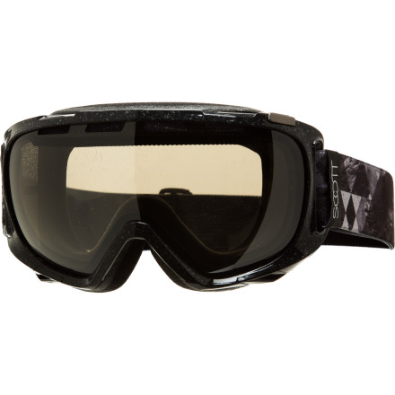Ski Scott's most popular goggle is its most popular for good reason. Along with just about every feature imaginable, the Fix Plus comes with a huge field of vision, due to a large lens and minimal frame. The icing on the cake is the 'Plus', which is Scott-speak for flashy frame and strap graphics. - $65.97