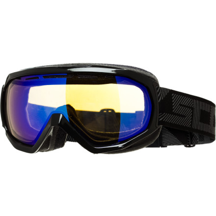 Ski If contact lenses just aren't your game, you'll be stoked to learn that Scott developed the Notice OTG Goggle for those who wear glasses. Designed to fit flawlessly with your glasses, the Notice features Air Control System and No Fog Anti-Fog lens treatment to prevent condensation and fogging issues. Enjoy panoramic views of the mountains and slopes while you ride or ski. - $69.97