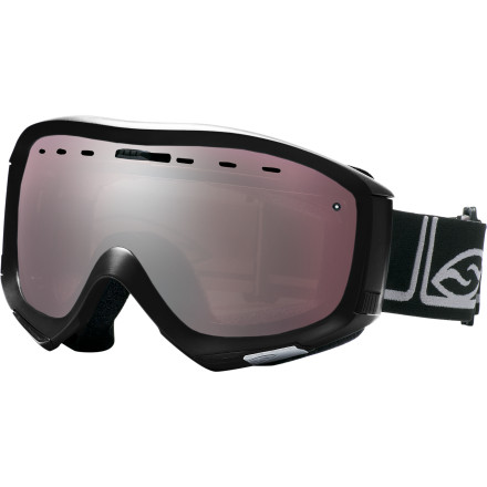 Ski Youve perfected the genius look, but you still want to shred in style. Enter the Smith Prophecy Goggle. This eyeglass-compatible goggle will keep your look and your vision in top form. And for those eco-conscious minds, Smith's Evolve series utilizes 53% bio-based Rislan frame material, FSC certified packaging, a coconut fiber bag, and a water-based lens coating. - $47.97