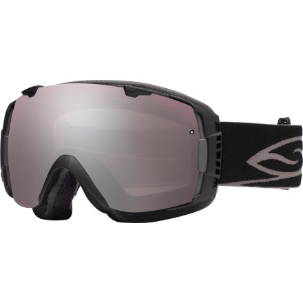 Ski Smith combined sleek styling with its easy-to-use quick release system to make the I/O Interchangeable Goggle your go-to all-season goggle. Smith uses its Vaporator lens technology on the I/O to keep fog off your lenses for crystal clear sight on the mountain. - $104.97