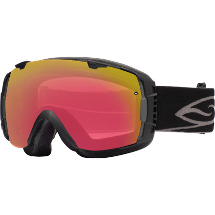 Ski The Smith Photochromic I/O Interchangeable Goggles take a sleek, streamlined design with a wide peripheral view and dumps in the kind of tech that you'd  expect to see in a science fiction movie. The double-layered lens system stops fog and distortion to make sure you can see where you're going while the photochromic treatment takes these goggles from light to dark and back to make sure you're ready for whatever kind of light is coming down. It's almost hard to imagine that such a straightforward look could be packing so much heat. - $234.95