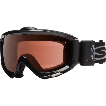 Ski The Smith Prophecy Turbo Fan Goggle incorporates Smith's 5X anti-fog inner lens and Turbo Fan technology in a sleek, stylish, OTG goggle that lets you wear your snazzy specs while you ride. When your goggles don't fog and your glasses don't fog, you can actually see where you're skiing. Imagine that. Take it from us, skiing is a lot more fun when you aren't constantly running into things. - $189.95