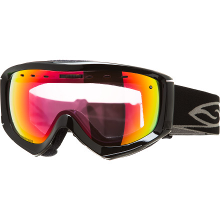 Ski Whether you're wearing your Smith Prophecy Photochromic Goggle because you like the way they fit over your specs or because you dig the minimalist design, these goggles stop glare and fog to keep you seeing what you want to see. Going from the brightness of an exposed face to the  shade of a powdery tree patch, these light-sensitive lenses adjust to keep your light right, and the streamlined style keeps your look right too. - $101.97