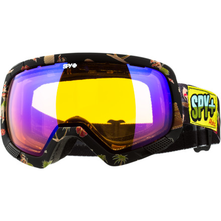 Ski The Spy Platoon Goggle with Free Bonus Lens has declared war on inferior optics, pressure-causing designs, and goggles that tend to fog every time you exhale. This goggle may come in a dizzying array of cool colors and collab editions, but it always include Spy's patented Scoop technology and an oversized lens as its ammo, it is clear that the opposition doesn't stand a chance. - $83.97