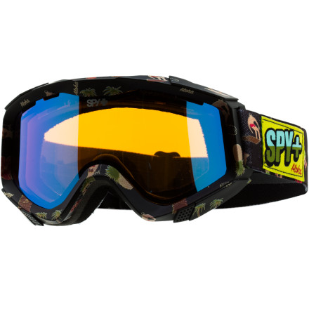 Ski Riders of all skillsets, locations, and thicknesses of wallets have chosen the Spy Zed Goggle with Free Bonus Lens as their goggle year after year for its no-nonsense approach to what a goggle should be: stylish, comfortable, breathable, and impact-resistant. There are other options for goggles out there laden with gadgets, and GPS, and zim-zammers, and what not, but those rocking the Zed usually have some leftover dough to afford lunch. - $53.97