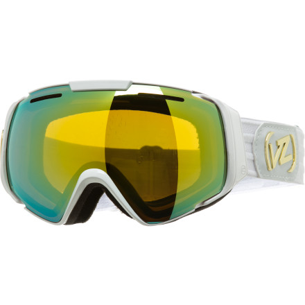 Ski The Von Zipper El Kabong Goggles shade your eyes from the sun and keep your field of view clear so you can focus on more important things like dodging trees while you hunt from that perfect stash. Plus, the large lens gives you a bold look that matches your shredding style. - $113.97